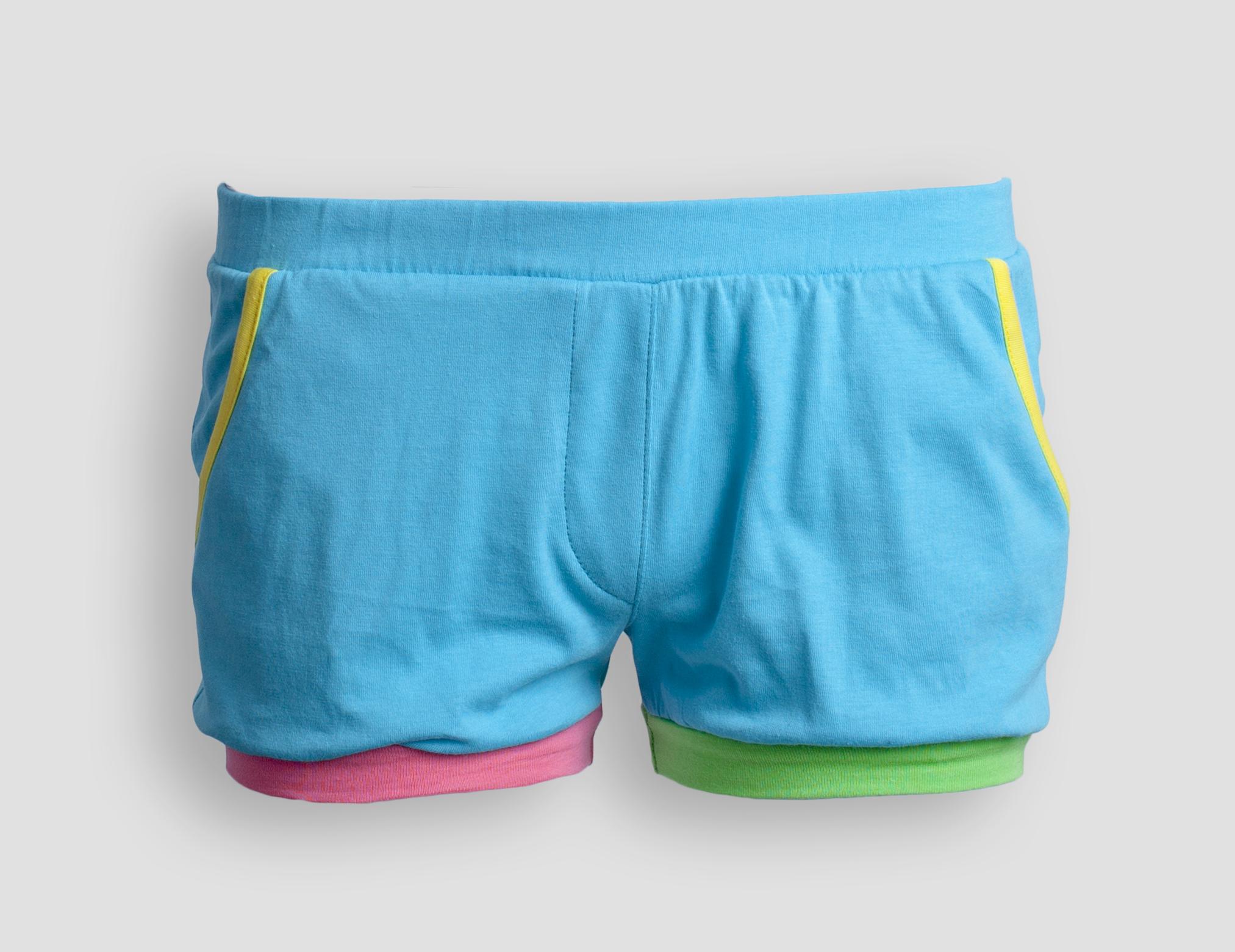 Детские женские шорты E18K-44D104
