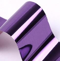 Фольга для дизайна ногтей (пурпур темный)
