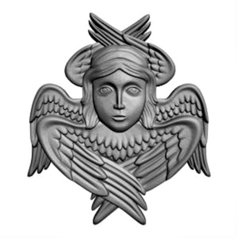 Силиконовый молд № 258 Ангел