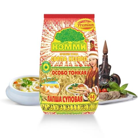 Макароны КЭММИ Лапша суповая Premium яичная 200 г КАЗАХСТАН