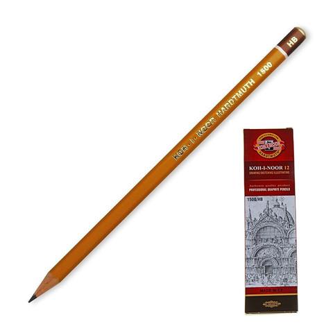 Карандаш чернографитный Koh-I-Noor 1500 HB заточенный