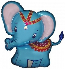 F Слоненок, Синий, 32