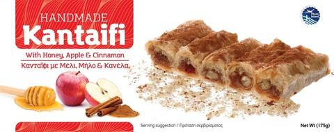Кантаифи с медом  яблоками и корицей Candianuts 175 гр