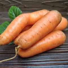 Морковь без ботвы деревенская / 1 кг