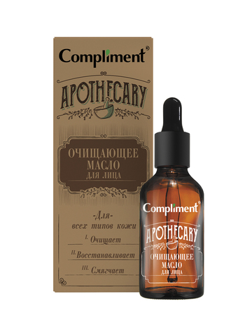Compliment Apothecary Очищающее масло для лица