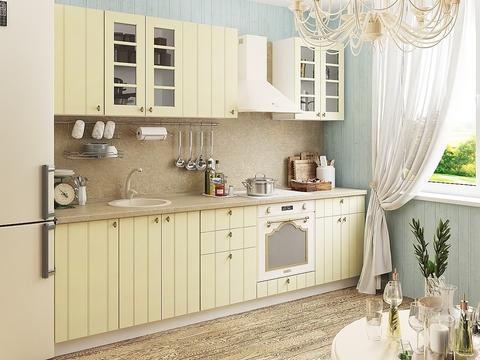 Кухня Прованс-1 белый, ваниль
