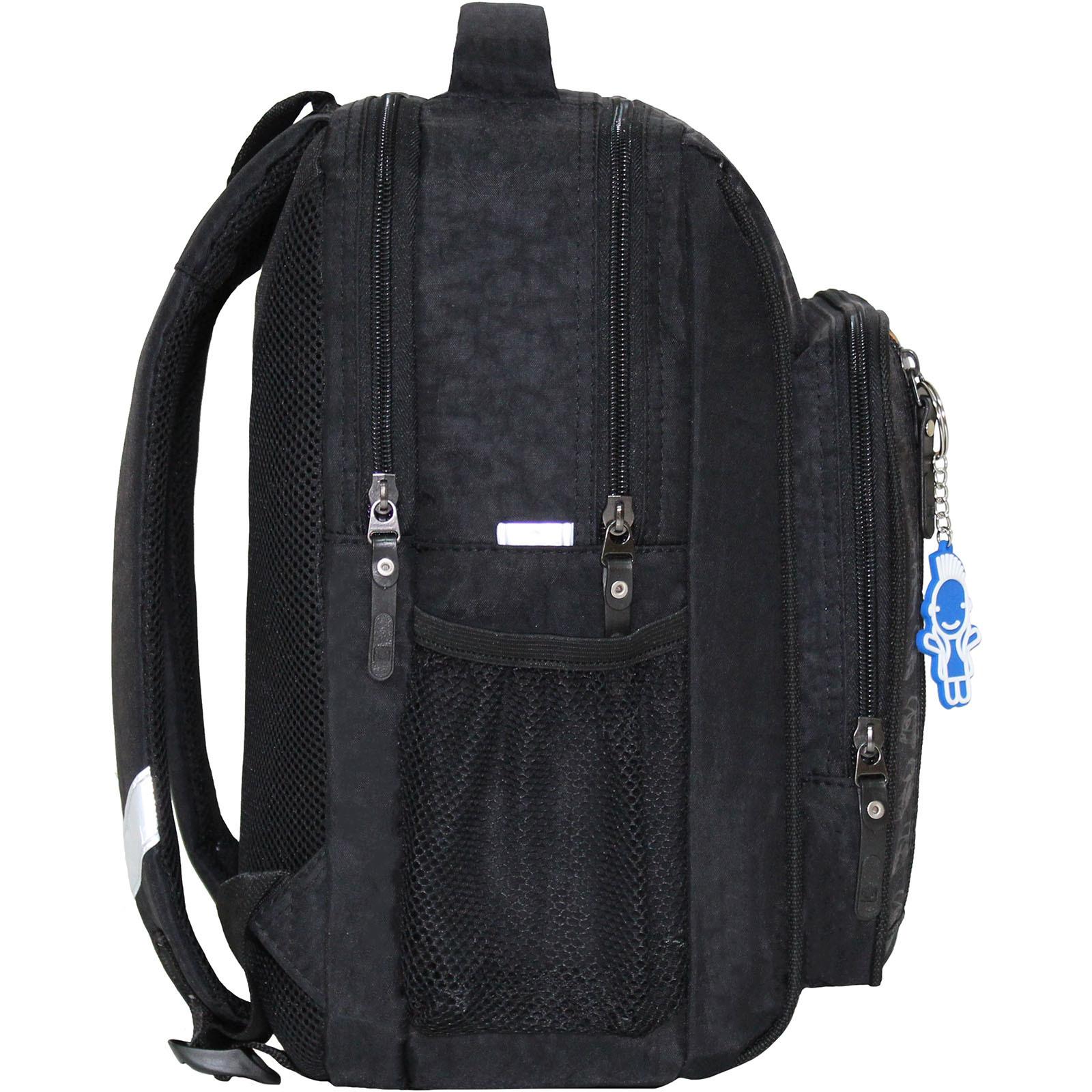 Рюкзак школьный Bagland Школьник 8 л. Черный 18м (0012870)