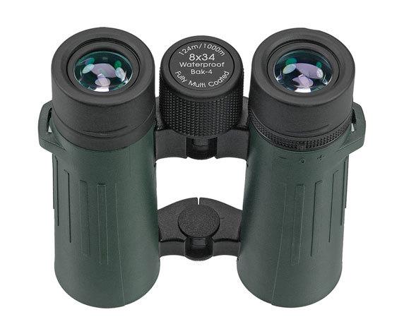 Окуляры бинокля Silver Line БН 8x34, темно-зеленый