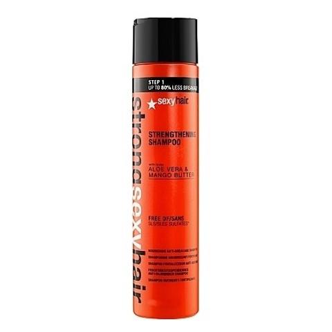 Sexy Hair Strong: Шампунь для прочности волос (Color Safe Strengthening Shampoo), 300мл/1000мл