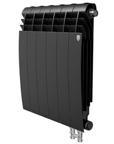Радиатор Royal Thermo BiLiner 350 V Noir Sable - 6 секций
