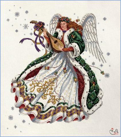 Набор для вышивания  Ангел элегантности. Арт. 3188