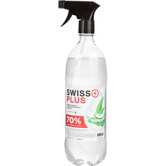 Антисептик кожный Swiss Plus спиртовой 1 л