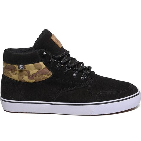Кеды ELEMENT TOPAZ C3 MID BLACK CAMO