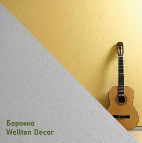 Стеклообои Wellton Decor WD781 Барокко