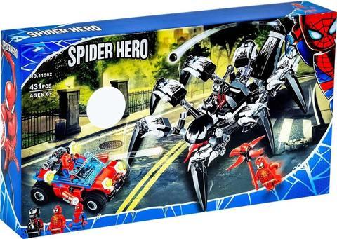 Конструктор Supreme Heroes Spider Hero Краулер Венома 11502, 431 дет.