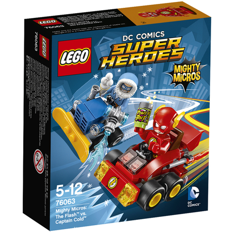 LEGO Super Heroes: Флэш против Капитана Холода 76063 — Mighty Micros: The Flash vs. Captain Cold — Лего Супергерои Marvel Марвел DC Comics комиксы