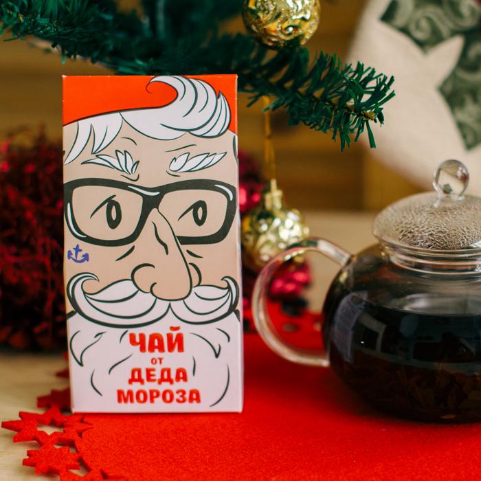 Подарочный чай ОТ ДЕДА МОРОЗА