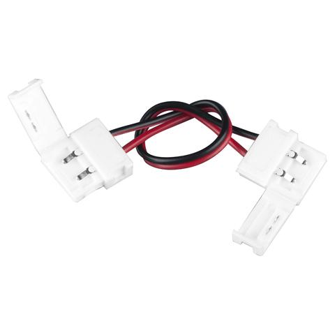 Коннектор для одноцветной светодиодной ленты 5050 гибкий двусторонний (10 шт.) a035396