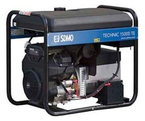 Кожух для бензиновой электростанции SDMO Technic 15000TE AVR C