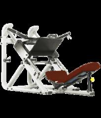 BRONZE GYM J-022 Жим ногами под углом 45 градусов (КОРИЧНЕВЫЙ)