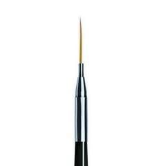 ruNail, Кисть для дизайна Nail Art Nylon, 12 мм №00/5