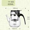 Kamjove TP-853 гунфу чайник с носиком 600 мл