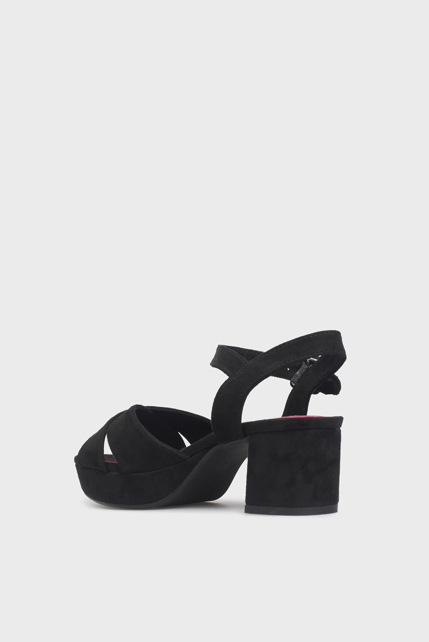 Женские черные босоножки HOOPER BASIC Pepe Jeans