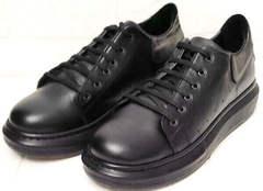 Женские кроссовки кеды на платформе EVA collection 0721 All Black.