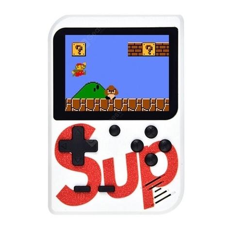 Портативная игровая консоль игра Sup Game Box 400 in1 Retro Game (Белый)