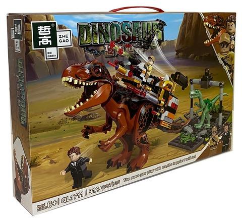 Мир Юрского периода Атака на Динозавре 1711, 312 д Конструктор