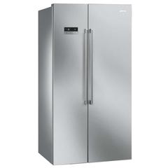 Холодильник SIde-by-side No-frost SMEG SBS63XDF фото