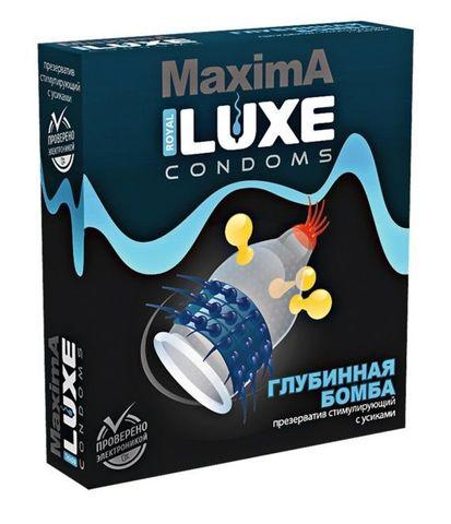 Презерватив LUXE Maxima  Глубинная бомба  - 1 шт.