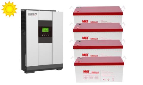 Комплект ИБП HS20-4048P-АКБ MM200 (48в, 4000Вт)