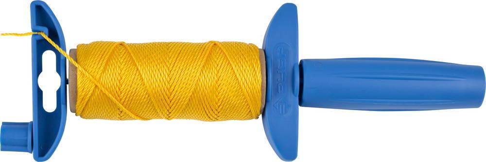 Шнур ЗУБР нейлоновый, для строительных работ, сменная шпуля, на катушке, 30м
