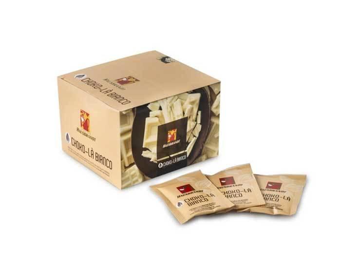 Горячий шоколад Hausbrandt Choko-La белый, 50 пак/уп, 25 г