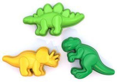 Формочки 3шт Динозаврики/169