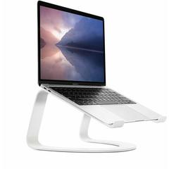 Подставка Twelve South Curve для MacBook, сталь, белый