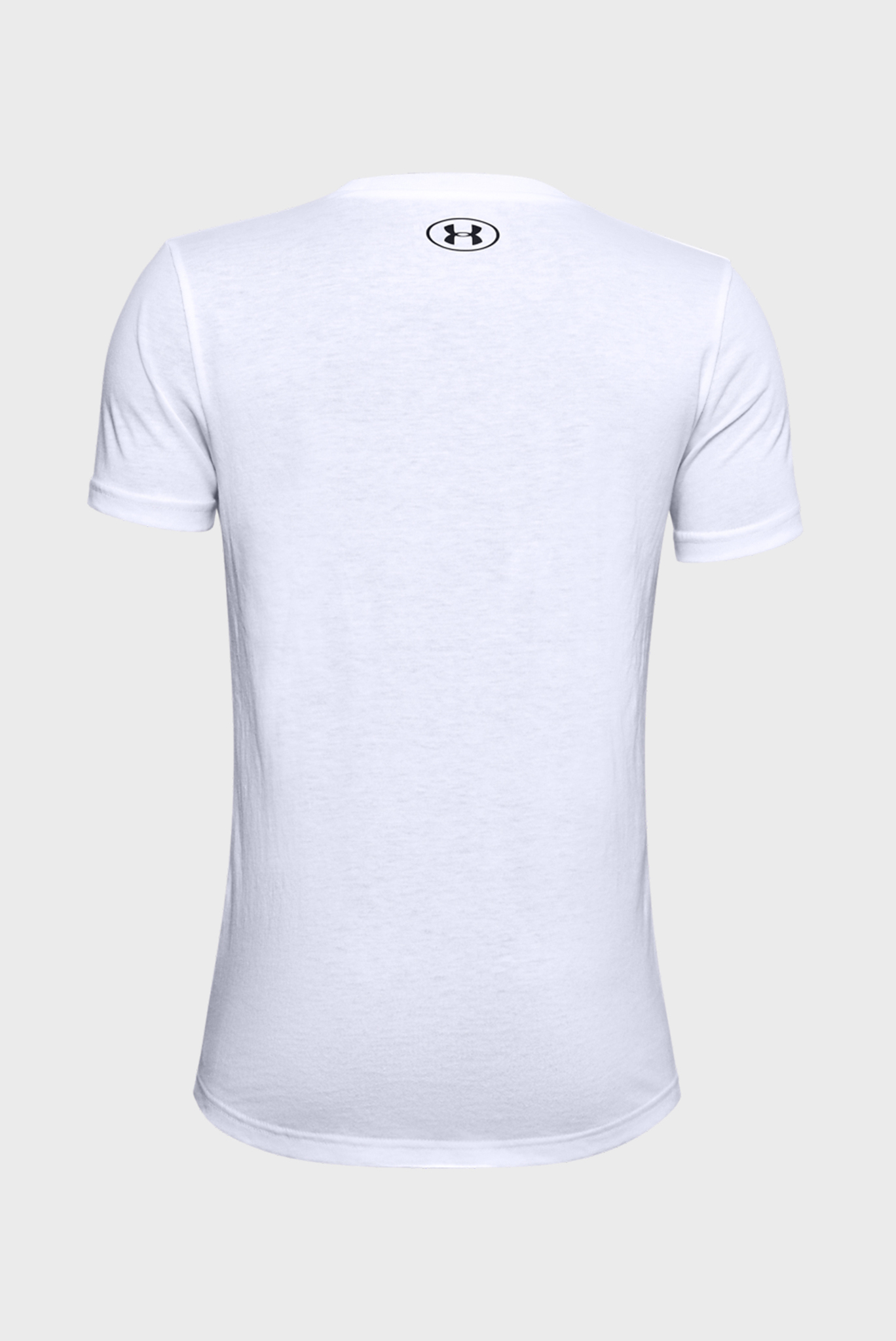 Детская белая спортивная футболка Sportstyle Logo SS Under Armour