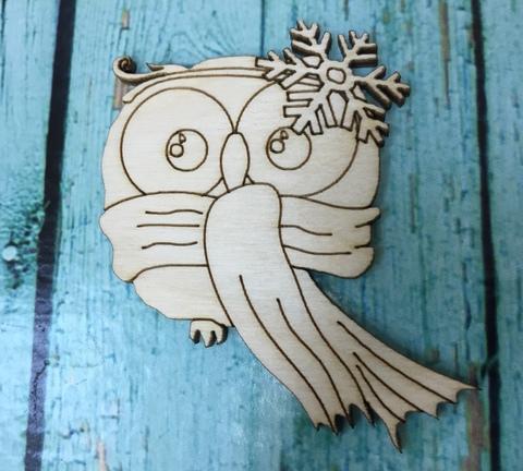 056-9921 Заготовка деревянная для значка/броши