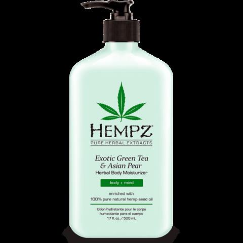 Молочко для тела  увлажняющее Зеленый чай и Груша / Hempz Exotic Green Tea & Asian Pear Herbal Moisturizer