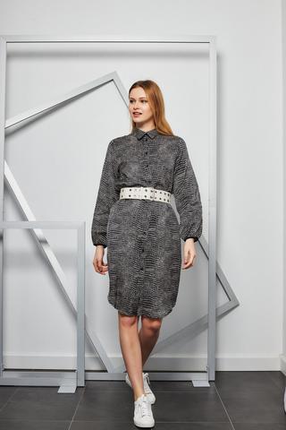 8 PM Платье-рубашка в графичный принт