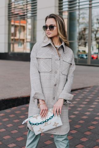 Пальто женское рубашка