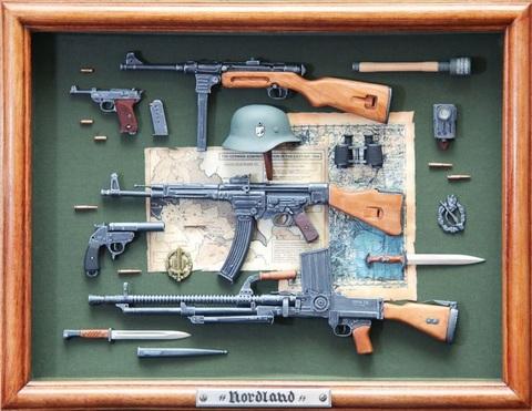 WW2 German early period guns