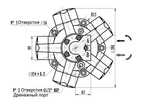 Гидромотор IPM4-750