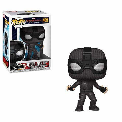 Фигурка Funko POP! Bobble: Marvel: Spider-Man: Far From Home: Spider-Man (Stealth Suit) 39208