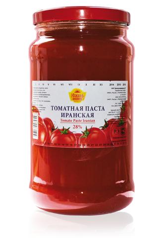 Томатная паста Иранская стекло МИНИМАРКЕТ 0,8кг
