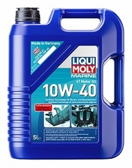 25013 LiquiMoly НС-синт. мот.масло д/водн.техн. Marine 4T Motor Oil 10W-40  (5л)