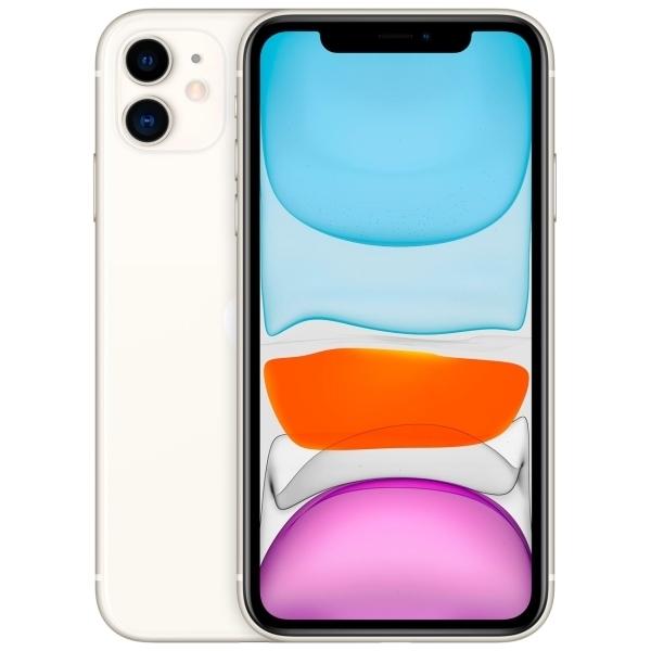 Новый Apple iPhone 11 64 ГБ белый (обменка ростест)