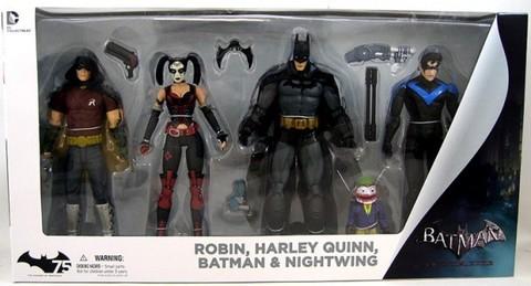Batman Arkham City Four Pack
