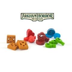 MEEPLEWOOD – Набор миплов для «Ужас Аркхэма. Карточная игра»